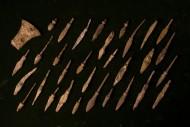 Бронебойные наконечники стрел, пробивавшие кирасу.